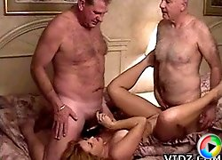 Fine sexy blonde slut Shanna Mc Cullough loves sticking huge dick in her mouth while being pentetrated!