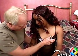Hot Babe Tesha loves sucking cock while getting fucked from behind!